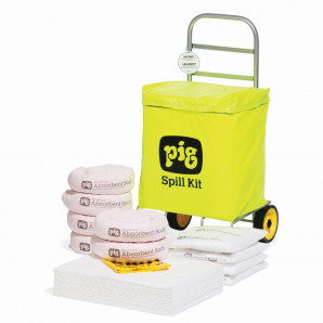 PIG® Oil-Only Trolley Bag Spill Kit