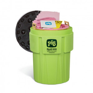 PIG Spill Kits in High-Visibility 360-litre Containers