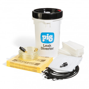 PIG® Leak Diverter Bucket Kit for Roofs