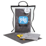 PIG® Universal Clear Compact Spill Kit